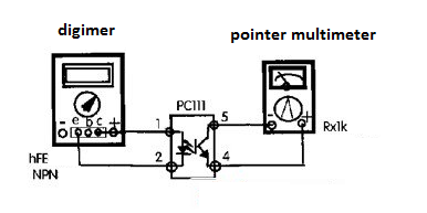 the PC111 optocoupler detection