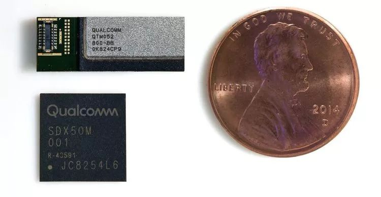Qualcomm's mmWave antenna and X50 modem enable mobile devices to achieve ultra-high-speed 5G speeds, enabling unimaginable miniaturization