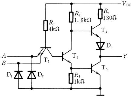 TTL circuit diagram
