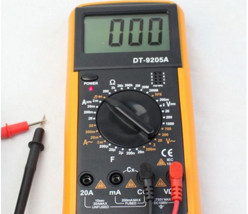 measuring the quality of led lights with multimeter feature1