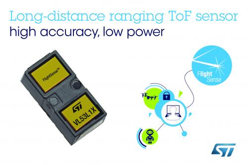 Low Power High Precision Distance Measuring Miniature ToF Sensor-VL53L1X