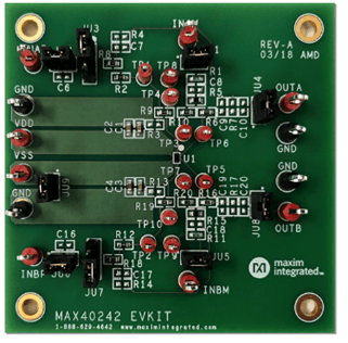 Evaluation Board MAX86150 EVS Outline Drawing