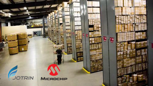 Microchip warehouse