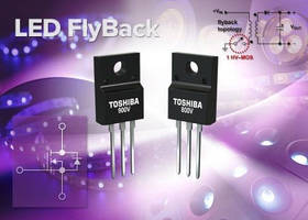 High-Voltage MOSFETs enable efficient, high-speed switching.