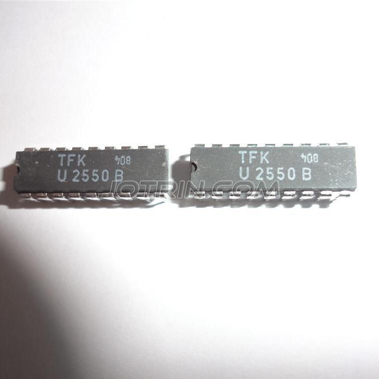 U2550B INTEGRATED CIRCUIT DIP-18