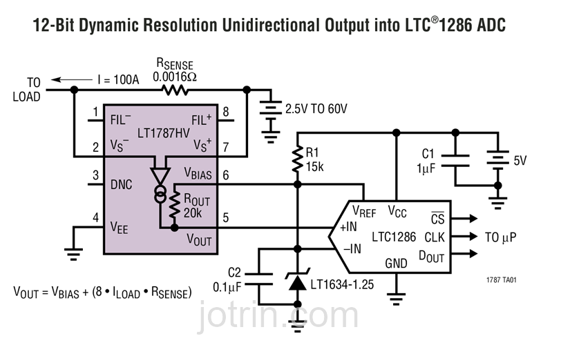 LT1787HVHS8#TRPBF Block Diagram