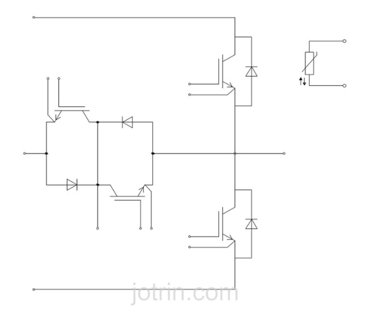 F3L150R12W2H3_B11 Block Diagram