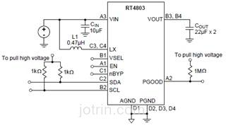 RT4803WSC Block Diagram