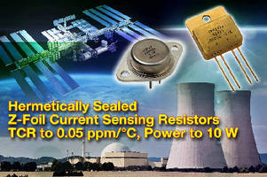 Current Sensing Resistors range from 0.25-500 ohms.
