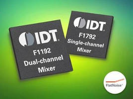 Ultra-Wide Bandwidth RF Mixers offer application flexibility.