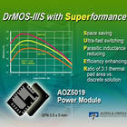 Power modules allow switching frequencies up to 1.5MHz
