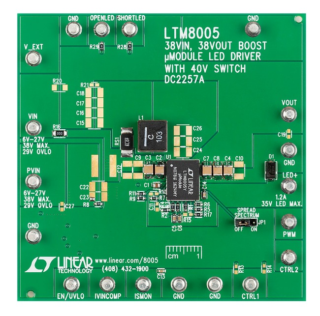 Linear Technology's latest products DC2257A