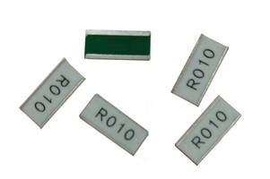 CSRF2043 Current Sense Chip Resistor uses foil on ceramic carrier technology.
