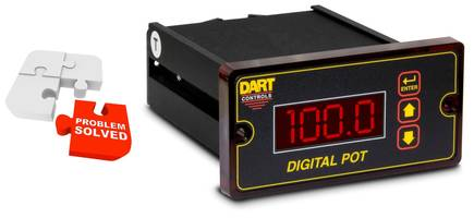 Exclusive Digital Potentiometer from Dart Now Offers Safety Feature Front Panel Lockout
