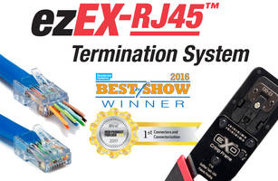 Platinum Tools Features Next Generation ezEX-RJ45 Termination System at 2017 InfoComm