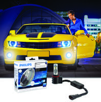 Philips X-tremeVision LED Fog Lamps Deliver Easy Plug-and-Play Upgrade for Popular Domestics from Buick to Lincoln