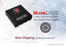 2 MHz Transformer Driver features on-chip oscillator.