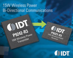 IDT 15W Wireless Power Chipset-WP15WBD-RK