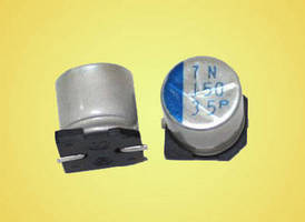 The MXCPB and MXCPT Series of aluminum-polymer hybrid construction capacitors