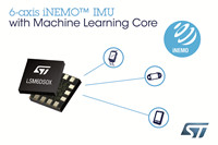 STMicroelectronics Introduces Motion Sensor with Machine Learning-LSM6DSOX