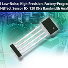Linear hall-effect sensor IC designed with low noise and high resolution