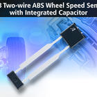 Sensor IC includes integrated capacitor