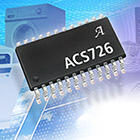 Current sensor IC is designed with differential output and externally adjustable gain