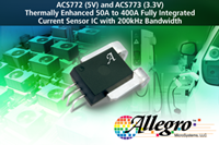Allegro Newest Galvanically Isolated Current Sensor IC-ACS773