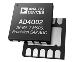 AD4002 from ADI_18-Bit, 2 MSPS Precision Pseudo Differential SAR ADC