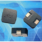SMD power inductors feature low-loss pressed iron powder core