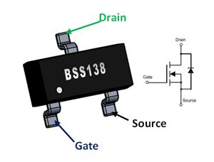 Enter the world of N-Channel Logic Level MOSFET-BSS138