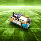 AC-DC power supplies offer high efficiency single output for convection, forced air cooling