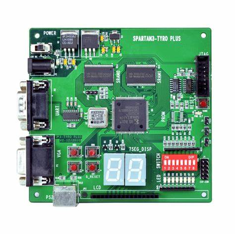 Using EP1C3T144C6 chip and VHDL to realize the design of frequency measuring meter