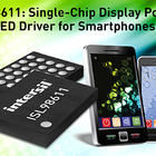 Power management IC integrates display power and backlight LED driver functions