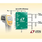 Synchronous step-down regulators incorporate a constant frequency, current-mode architecture