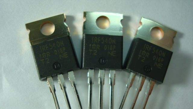 N-channel MOSFETs for electric power switching applications.