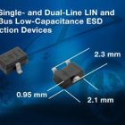 ESD Protection diodes save board space in automotive applications