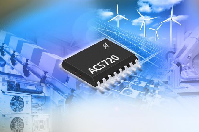 The ACS720 of Current sensor IC with function that dual fault user settable