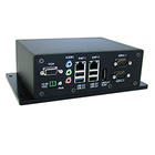 Fanless quad-core embedded PC features extended temperature operation