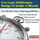 Tool provides CCM and buck LED driver designs in under a minute
