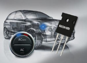 "ROHM introduces four new models of 1200V pressure-resistant IGBT ""RGS series"" for vehicle use based on aec-q101 standard."